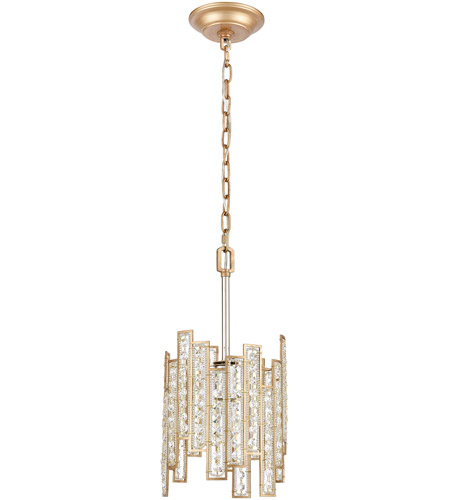 ELK 12132/1 Equilibrium 1 Light 8 inch Matte Gold with Polished Nickel Pendant Ceiling Light alternative photo thumbnail