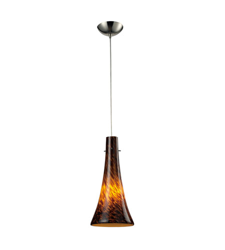 ELK Lighting Tromba 1 Light Pendant in Satin Nickel 140-1ES photo