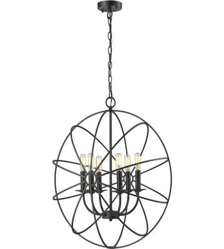 elk 14244 6 yardley 6 light 23 inch oil rubbed bronze chandelier rh elklightinglights com