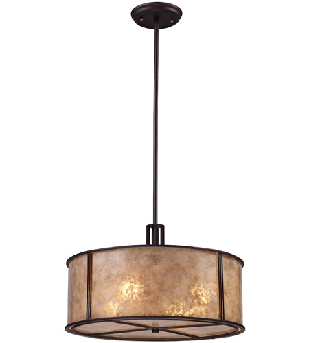 ELK 15032/4 Barringer 4 Light 18 inch Aged Bronze Pendant Ceiling Light in Standard photo