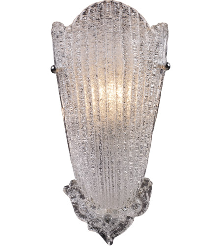 ELK Lighting Providence 1 Light Sconce in Antique Silver Leaf 1510/1 photo