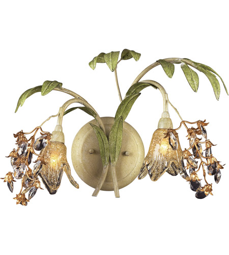 ELK 16050 Huarco 2 Light 16 inch Seashell Wall Sconce Wall Light photo