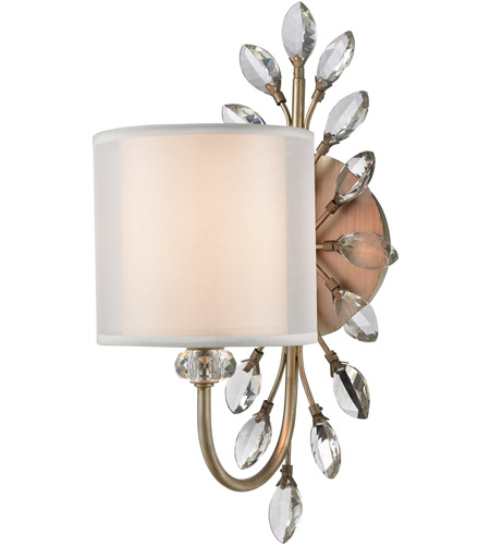 ELK 16276/1 Asbury 1 Light 9 inch Aged Silver Vanity Light Wall Light photo