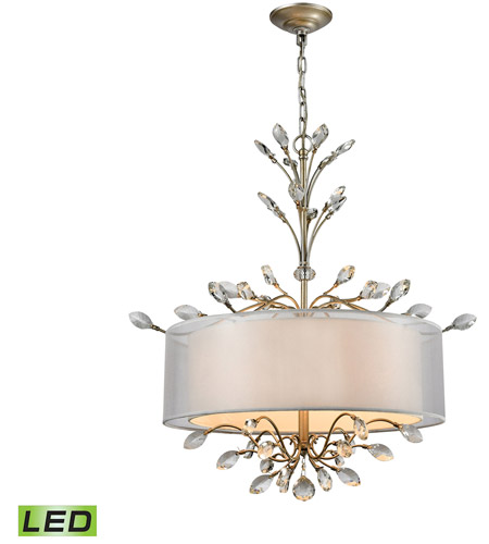 ELK 16282/4-LED Asbury LED 26 inch Aged Silver Chandelier Ceiling Light photo