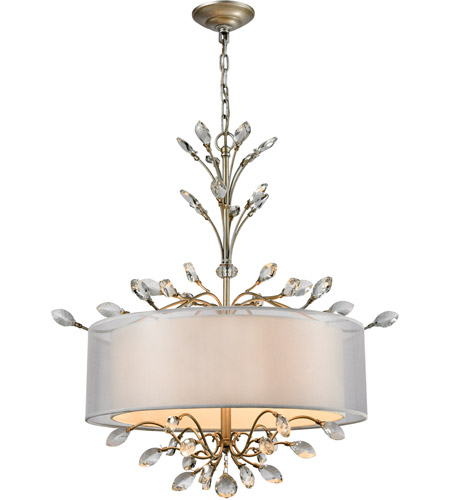 ELK 16282/4 Asbury 4 Light 26 inch Aged Silver Chandelier Ceiling Light in Incandescent photo