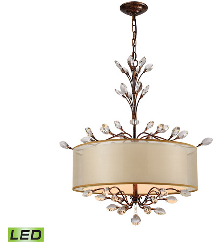 ELK 16292/4-LED Asbury LED 26 inch Spanish Bronze Chandelier Ceiling Light photo