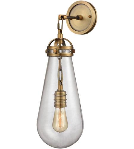Elk Lighting Garriston: ELK 16460/1 Gramercy 1 Light 7 Inch Classic Brass Wall