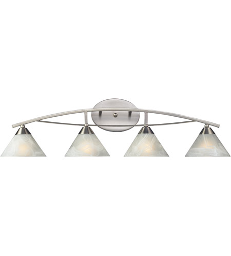 ELK 17019/4 Elysburg 4 Light 36 inch Satin Nickel Vanity Light Wall Light photo