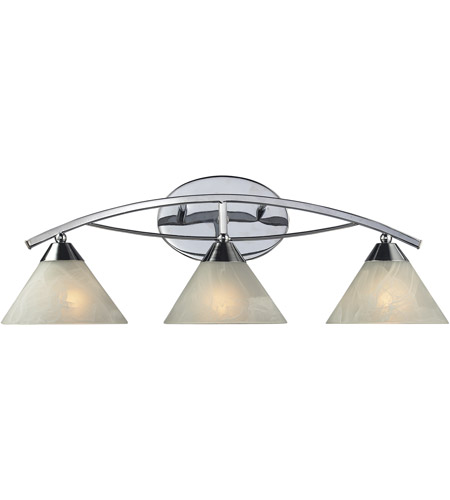 ELK 17023/3 Elysburg 3 Light 25 inch Polished Chrome Vanity Light Wall Light photo