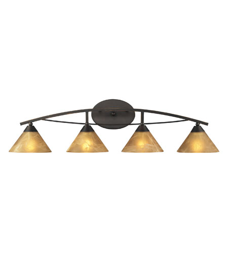 ELK 17029/4 Elysburg 4 Light 36 inch Aged Bronze Vanity Wall Light photo