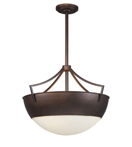 ELK Lighting Sullivan 3 Light Pendant in Aged Bronze 17035/3 photo