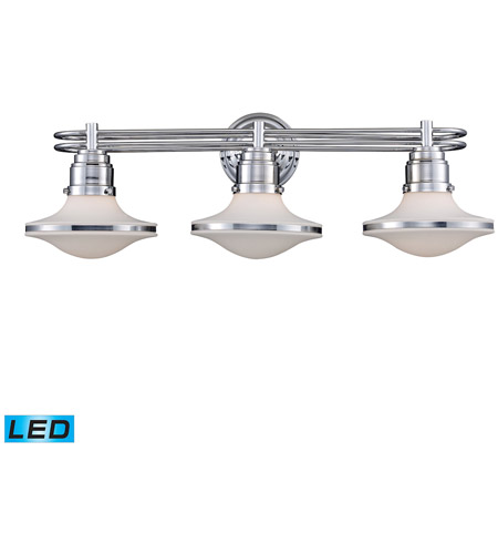 ELK Lighting Retrospectives 3 Light Bath Bar in Polished Chrome 17052/3-LED photo