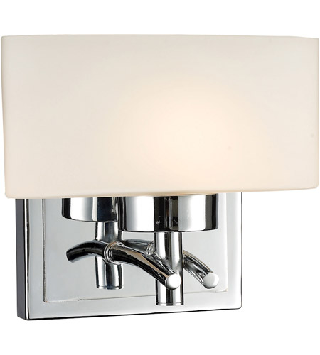 ELK 17080/1 Eastbrook 1 Light 7 inch Polished Chrome Vanity Wall Light photo