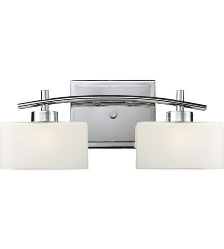 ELK Eastbrook Light Inch Polished Chrome Vanity Wall Light - 18 inch bathroom light fixture