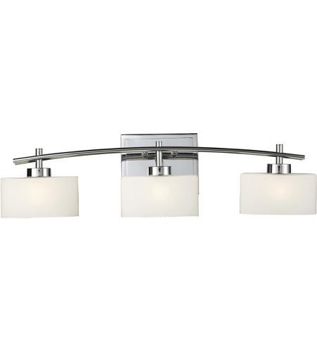 Elk 17082 3 eastbrook 3 light 29 inch polished chrome for Elk bathroom lighting