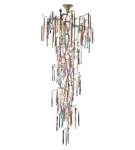 ELK Lighting Stalavidri 21 Light Chandelier in Talha Bronze 1708/21 photo