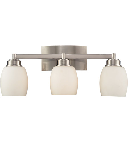 ELK 17102/3 Northport 3 Light 20 inch Satin Nickel Vanity Wall Light in Standard photo