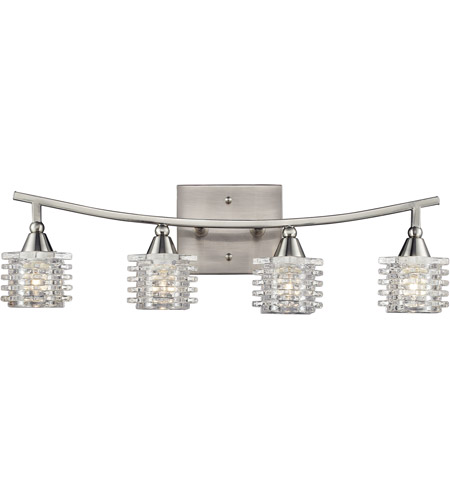 ELK 17132/4 Matrix 4 Light 21 inch Satin Nickel Bath Bar Wall Light photo