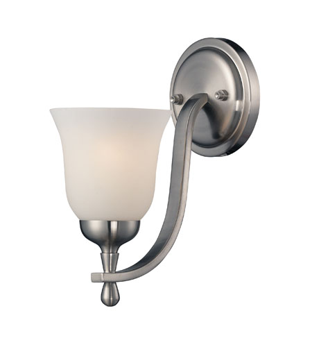 Mayfield 1 Light 5 Inch Brushed Nickel Wall Sconce