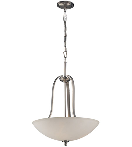 ELK 17142/3 Mayfield 3 Light 19 inch Brushed Nickel Pendant Ceiling Light photo