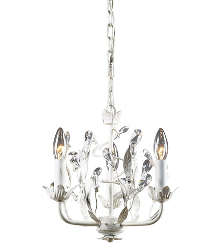 ELK 18112/3 Circeo 3 Light 11 inch Antique White Chandelier Ceiling Light in Standard photo