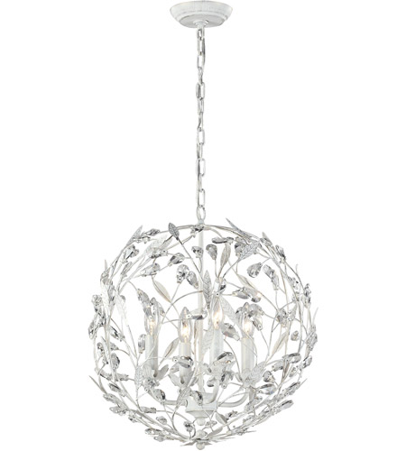 Elk 181244 circeo 4 light 19 inch antique white pendant ceiling light aloadofball Gallery