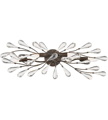 Sunglow Bronze Crislett Bathroom Vanity Lights