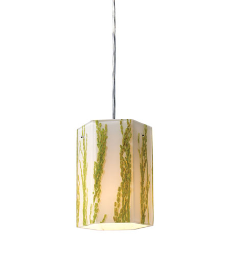 ELK 19041/1 Modern Organics 1 Light 6 inch Polished Chrome Pendant Ceiling Light photo