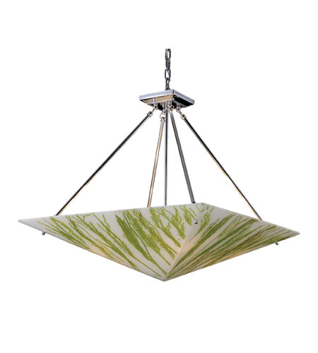 ELK Lighting Modern Organics 4 Light Pendant in Polished Chrome 19044/4 photo