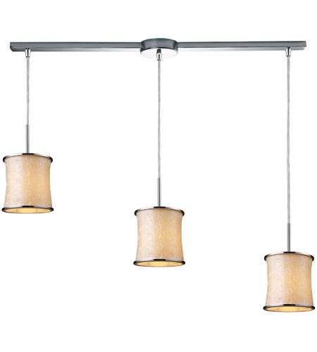 ELK Lighting Fabrique 3 Light Pendant in Polished Chrome 20024/3L photo