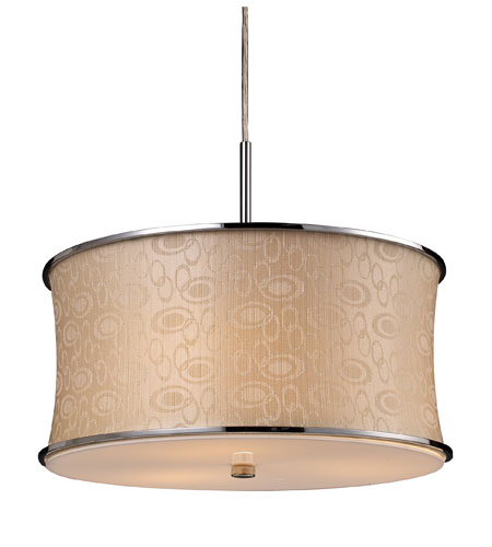 ELK Lighting Fabrique 3 Light Pendant in Polished Chrome 20025/3 photo