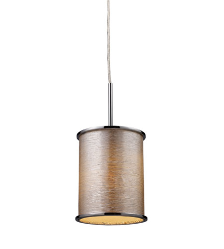 ELK 20042/1 Fabrique 1 Light 8 inch Polished Chrome Pendant Ceiling Light photo