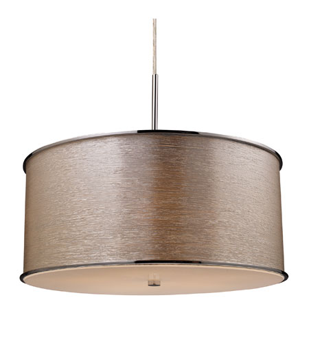 ELK Lighting Fabrique 5 Light Pendant in Polished Chrome 20045/5 photo