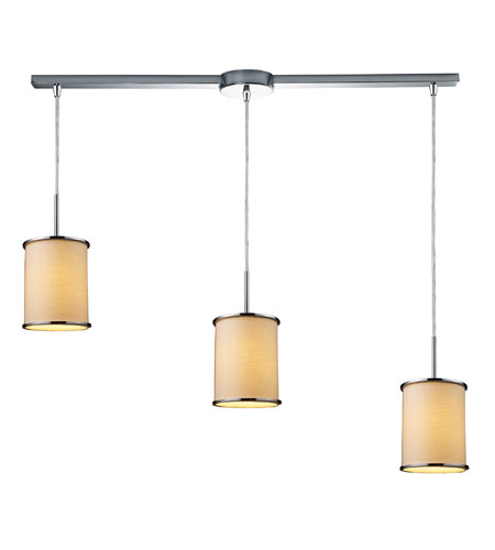 ELK Lighting Fabrique 3 Light Pendant in Polished Chrome 20055/3L photo