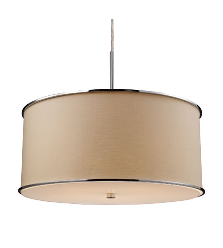 ELK Lighting Fabrique 5 Light Pendant in Polished Chrome 20057/5 photo