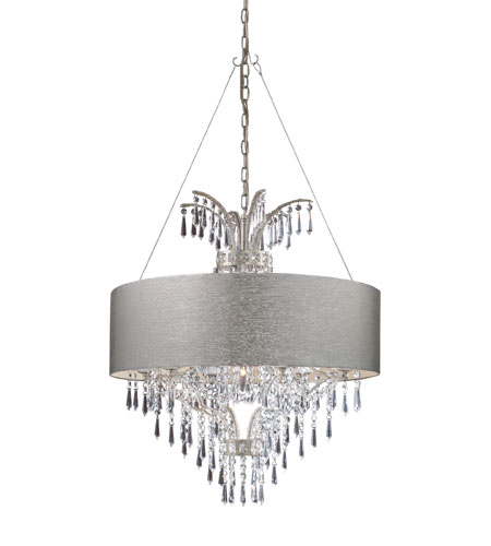 ELK Lighting Retrofit Drum Shade in Silver 20143 photo