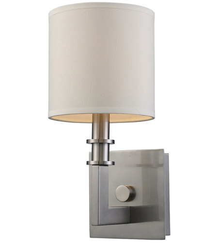 ELK 20150/1 Seven Springs 1 Light 6 inch Satin Nickel Wall Sconce Wall Light photo