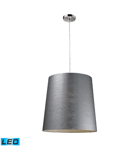 ELK Lighting Couture 1 Light Pendant in Polished Chrome 20164/1-LED photo