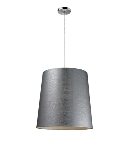 ELK Lighting Couture 1 Light Pendant in Polished Chrome 20164/1 photo