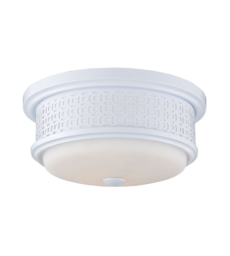 ELK Lighting Signature 2 Light Flush Mount in White 20193/2 photo