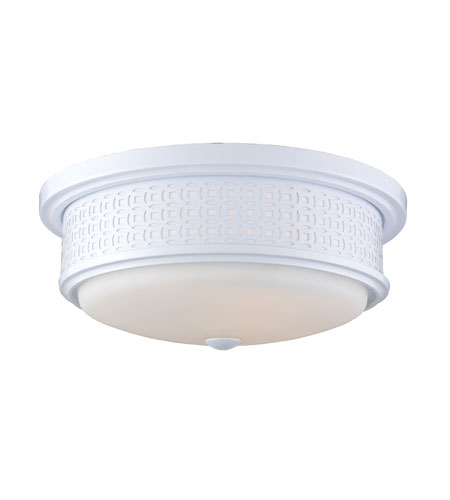 ELK Lighting Signature 3 Light Flush Mount in White 20194/3 photo