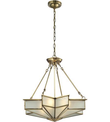 Elk 220124 decostar 4 light 25 inch brushed brass pendant ceiling light elk 220124 decostar 4 light 25 inch brushed brass pendant ceiling light photo aloadofball Images