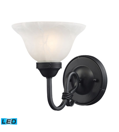 ELK Lighting Buckingham 1 Light Wall Sconce in Matte Black 241-BK-LED photo