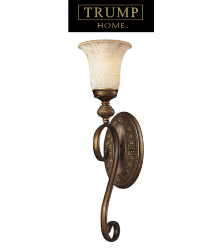 ELK Lighting Briarcliff 1 Light Sconce in Weathered Umber 2470/1 photo