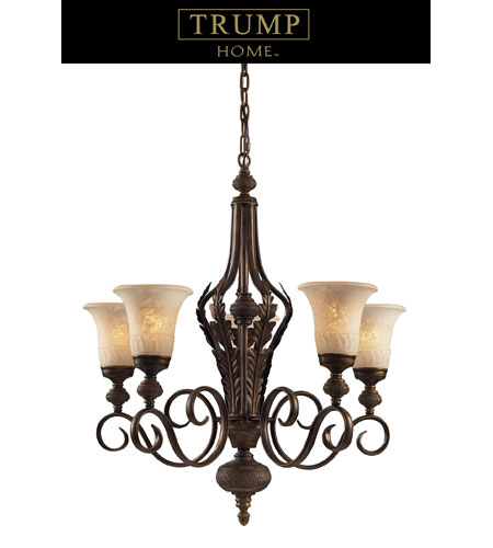 ELK Lighting Briarcliff 5 Light Chandelier in Weathered Umber 2479/5 photo