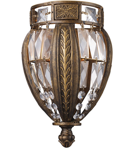 ELK Lighting Millwood 1 Light Sconce in Antique Bronze 2490/1 photo