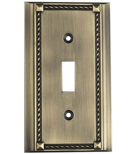 ELK 2501AB Clickplate Antique Brass Lighting Accessory photo
