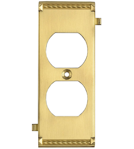 ELK Lighting Clickplate Lighting Accessory in Brass 2503BR photo