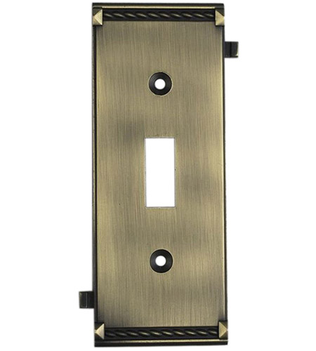 ELK Lighting Clickplate Lighting Accessory in Antique Brass 2504AB photo