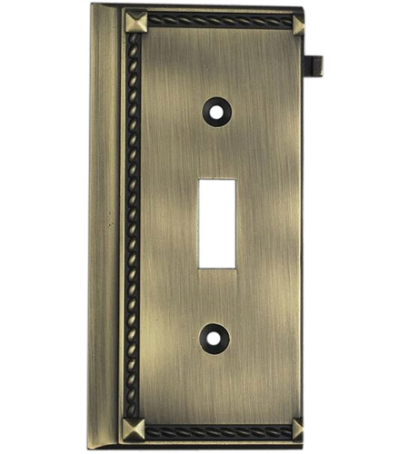 ELK 2507AB Clickplate Antique Brass Lighting Accessory photo